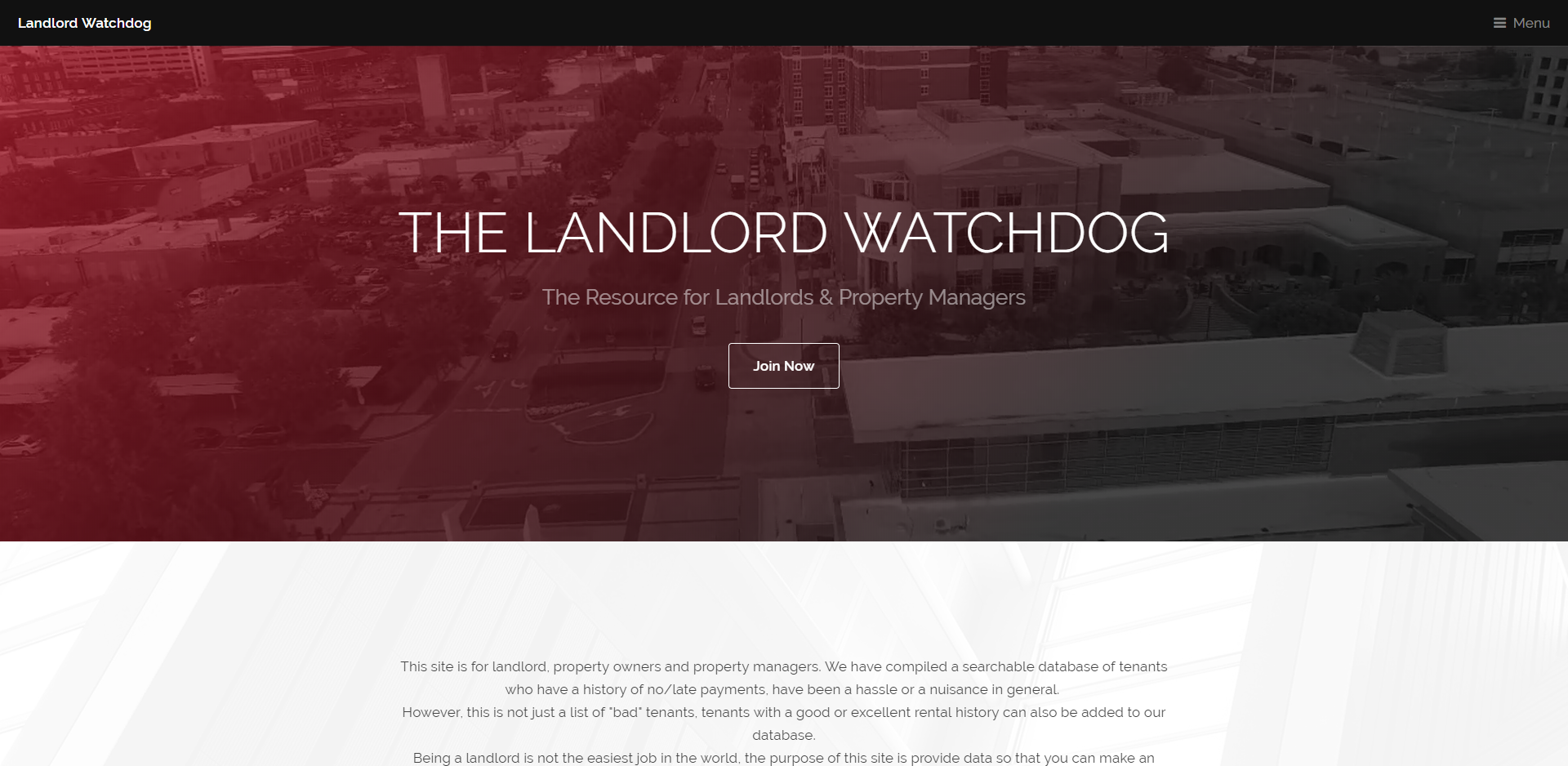 The Landlord Watchdog